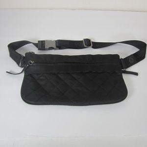 Lululemon Black Quilted Belt Bag Fanny Pack